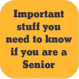 important info for seniors
